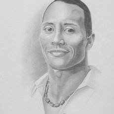 Grafika - Dwayne Johnson