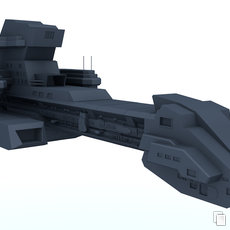 3D grafika - X-303 Prometheus