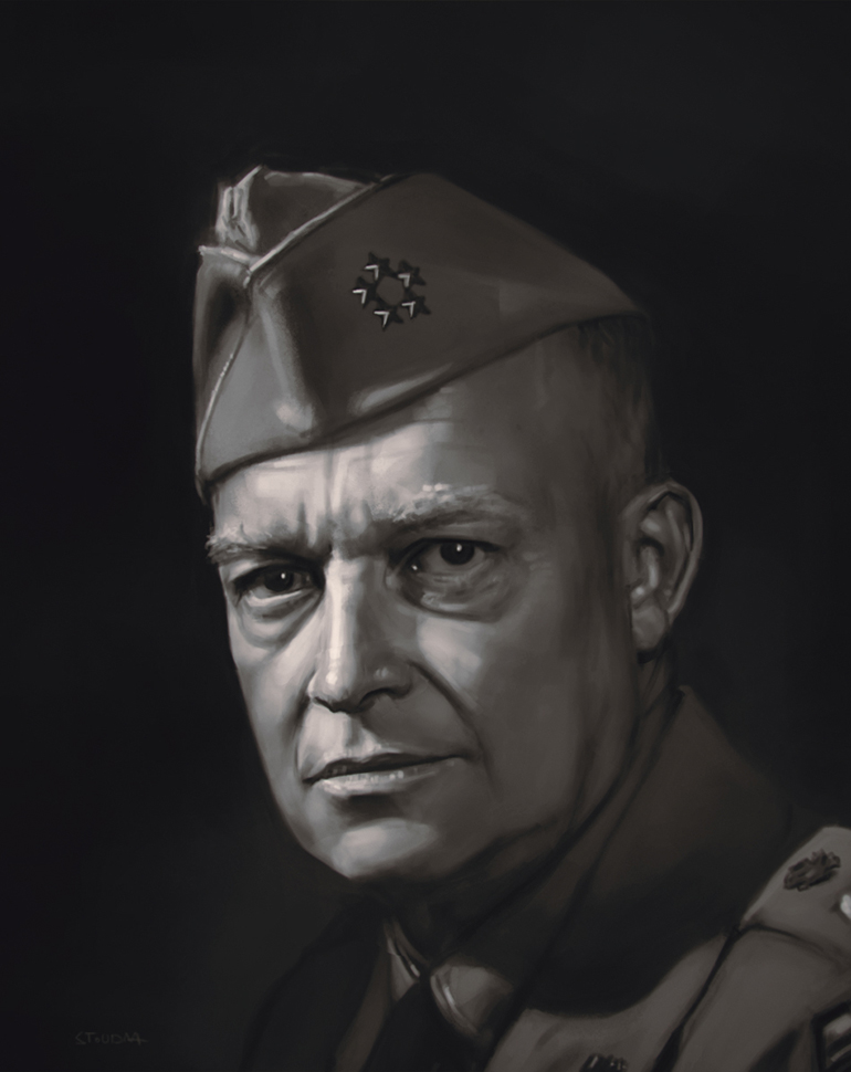 eisenhower - Grafika - stoudaa
