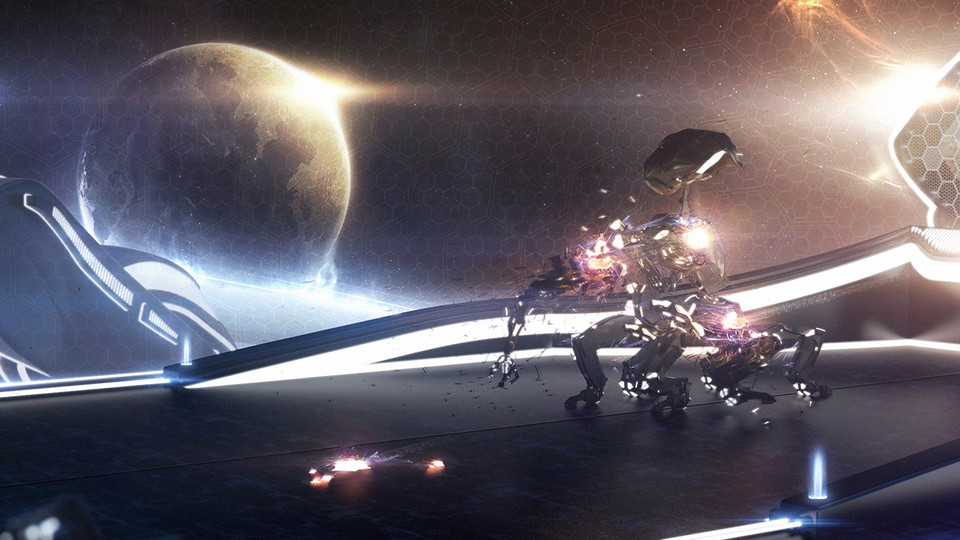 The Visitor - matte painting - 3D grafika - specnazspe