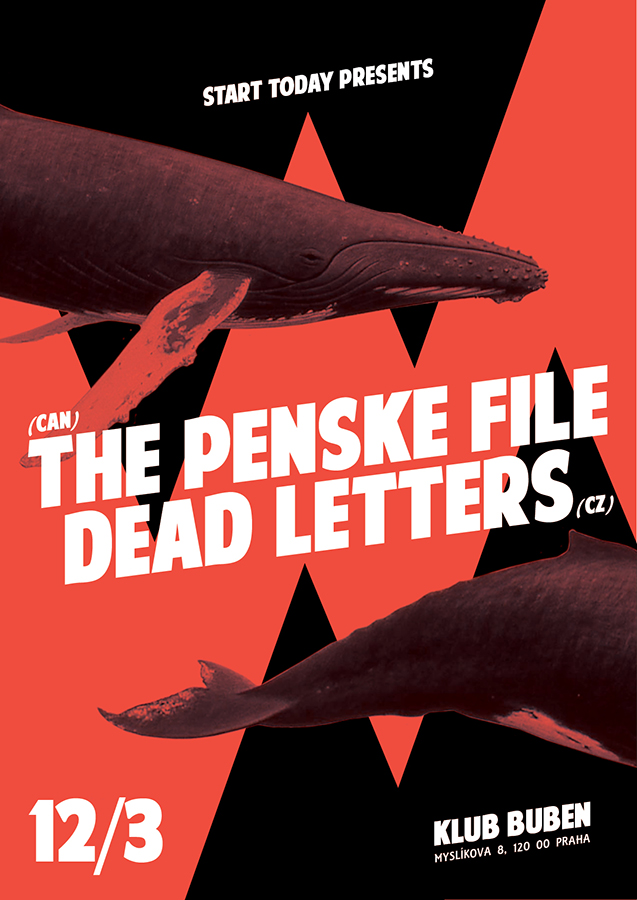 THE PENSKE FILE/DEAD LETTERS - Grafika - Beejay