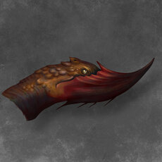 Grafika - Chinhorn dragon head