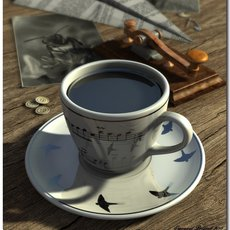 3D grafika - Coffee Time