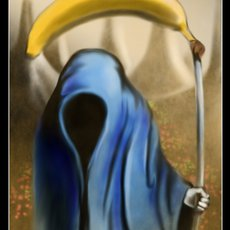Grafika - - banana death -