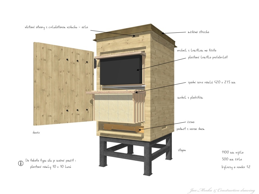 Drawer hive - 3D grafika - Nikka