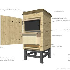 3D grafika - Drawer hive