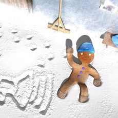 3D grafika - Waiting For Snow