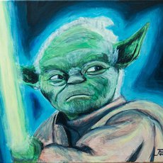 Graphics - Star Wars Yoda