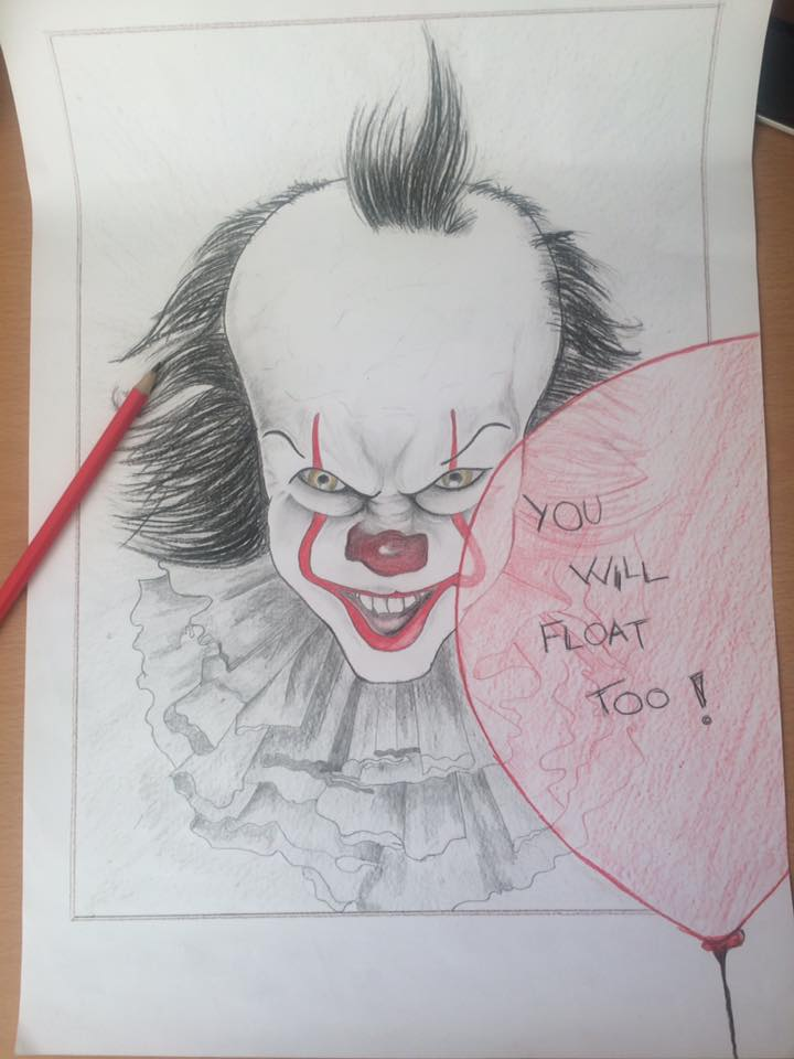 IT - Pennywise - Grafika - MarciJankova