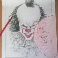 Grafika - IT - Pennywise
