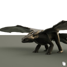 3D graphics - Toothless WIP