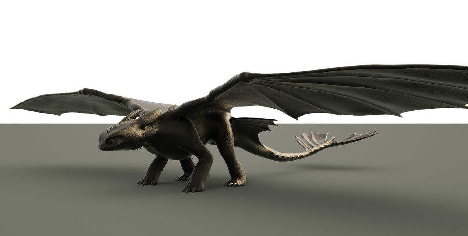 Toothless WIP - 3D grafika - James6357