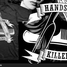Grafika - Handsome Killers Tee