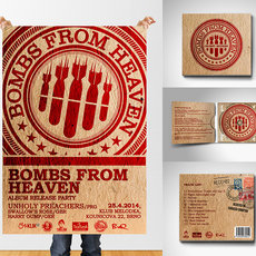 Grafika - Bombs From Heaven - Orient Expres
