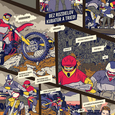 Grafika - Red Bull: Get On Top 2017 - komiks